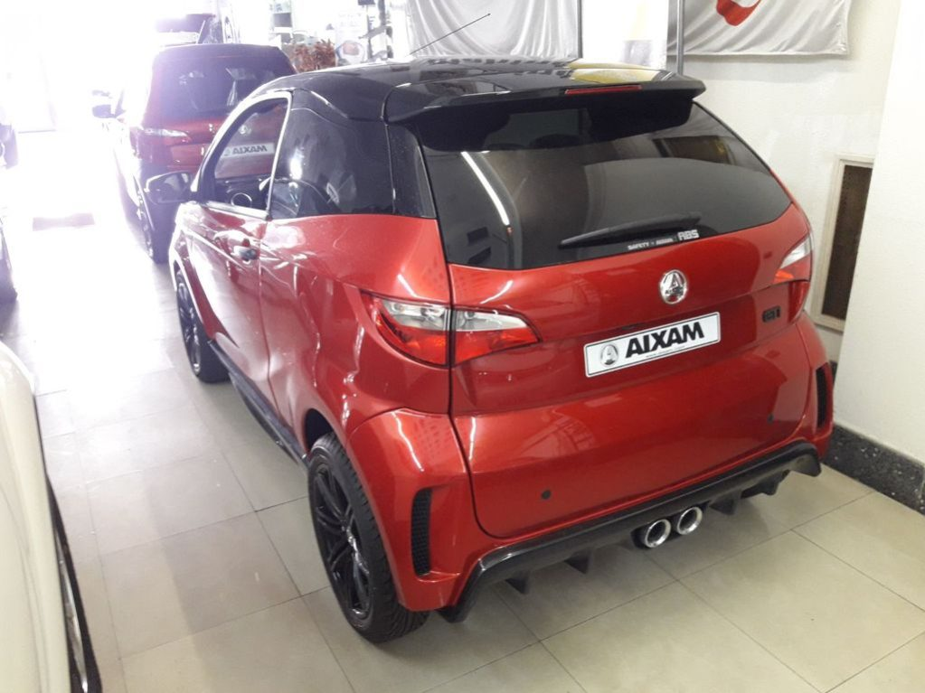 AIXAM COUPE GTI PREMIUM ABS MODEL 2019 lleno